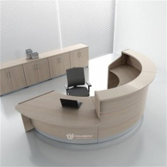 Semicircle Reception Counter Best Material for good sale