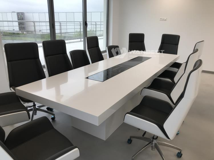 Table White Meeting Room Furniture