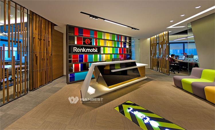 LOGO Reception desk