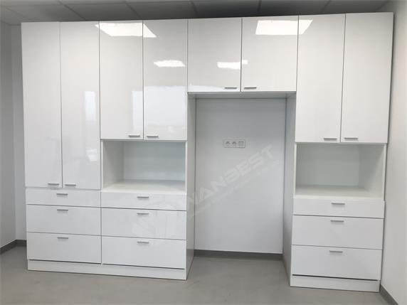 White multi-purpose multi-space storage cabinets for sale