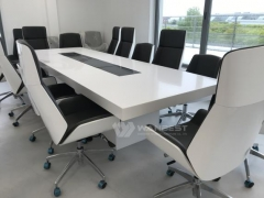Custom Straight Modern Conference Room Tables Furniture