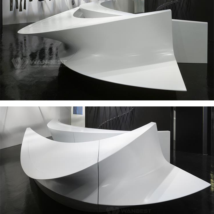 Reception desk-details