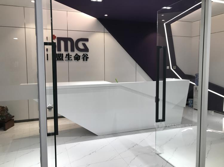 Artificial stone Reception desk-2