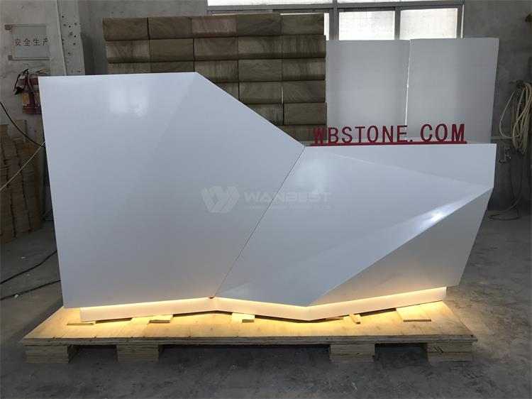 LED lighting front counter