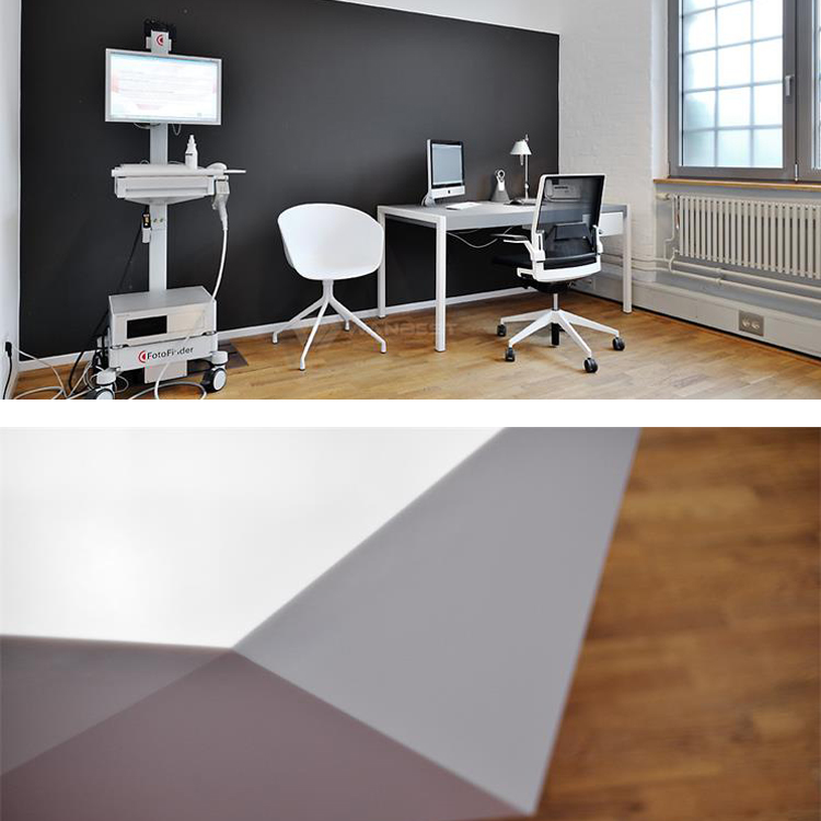 Corian solid surface desk