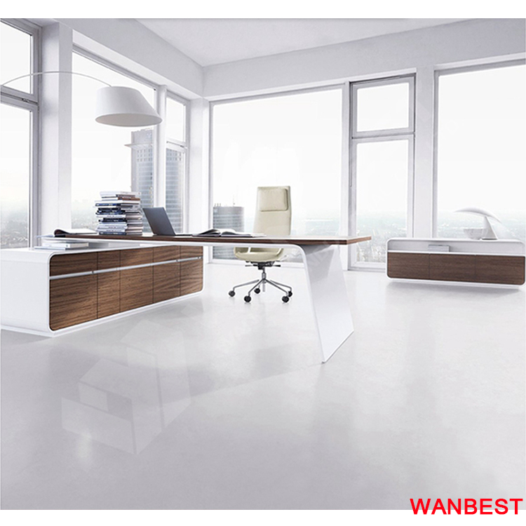 New Design Corian & Wooden Office Table Design for sale