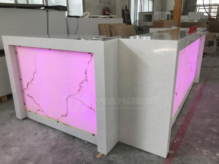 Durable and modern bar counter
