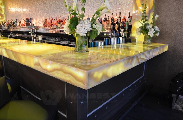 The details of bar counter