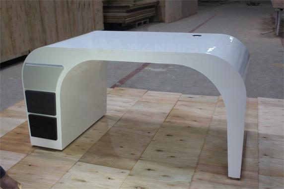 Hot Sale Modern Commercial Artificial stone Office Desk