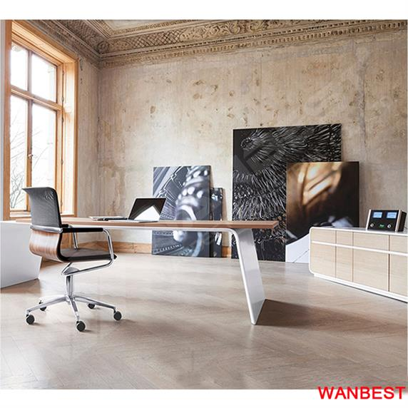 High Quality New Design Corian & Wooden Office Table Design