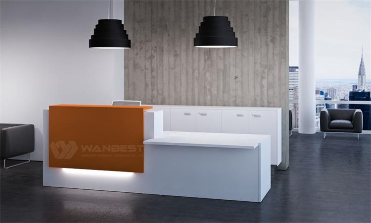 Artificial Stone Office Reception Desk