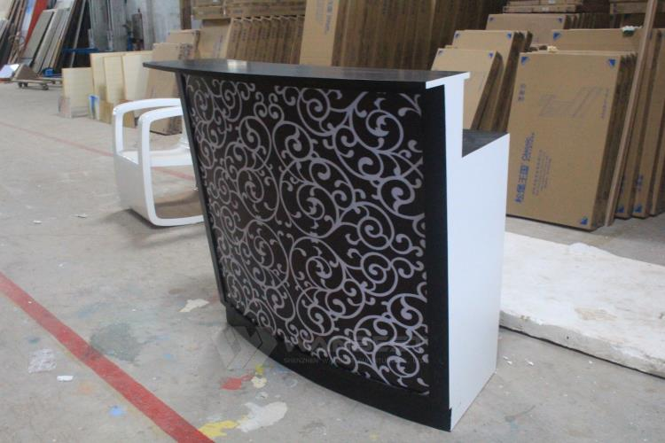 Black mini pattern special bar counter