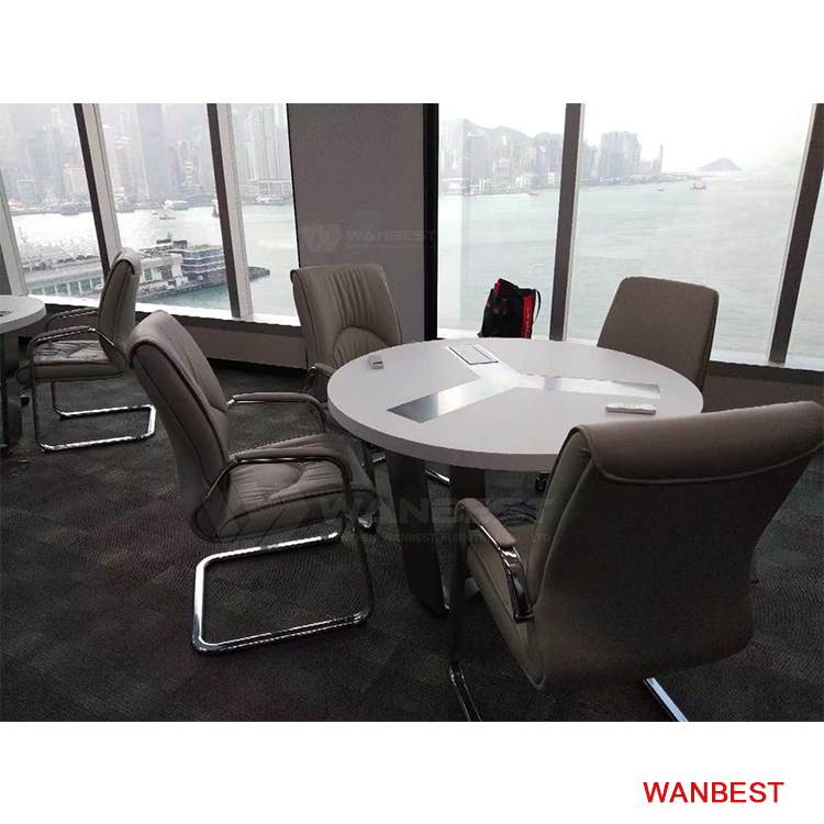 Four Seat Round Popular Comference Table