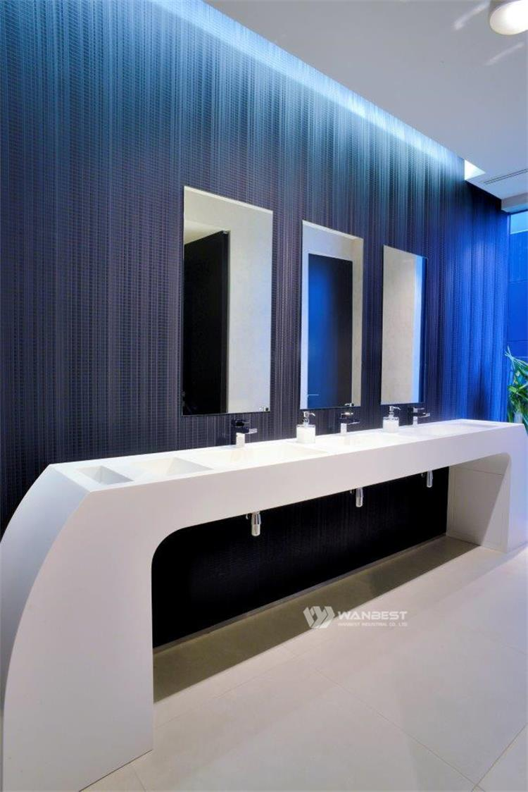 Aritificial Stone White Bathroom Products