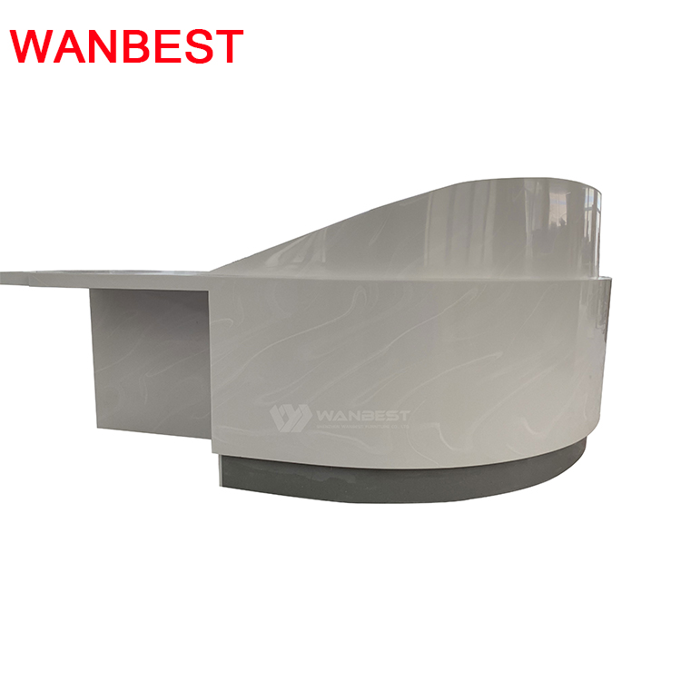 Semicircle Standard Size Reception Desk