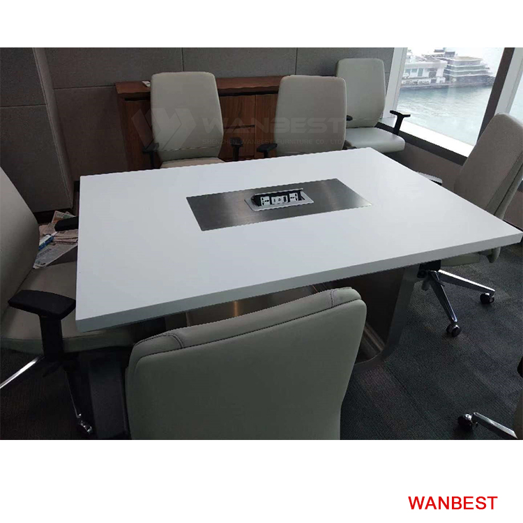 6 seat rectangle conference table