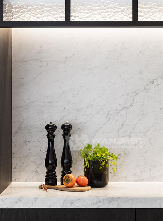 Luxury Artificial Marble Durable Kitchen Counter Top