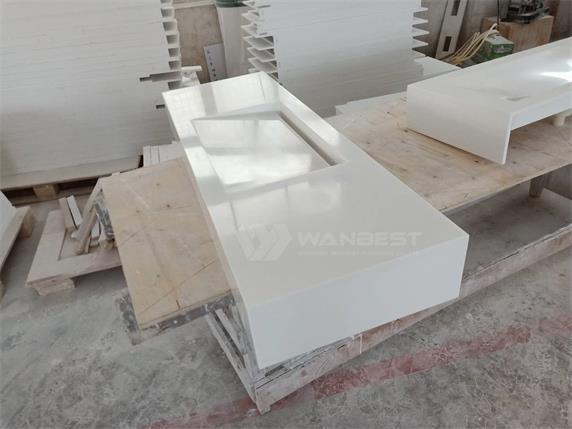 China Factory Artificial Stone Bathroom Washing Sink