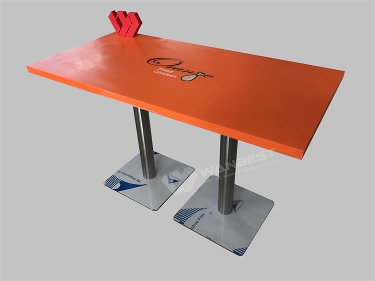 Fast food shop dining table for sale