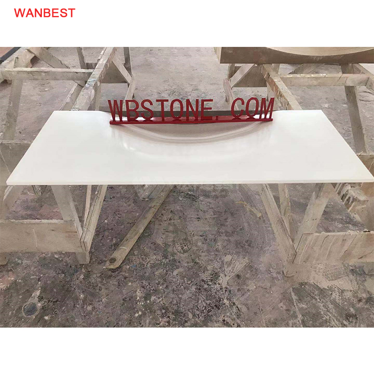 Artificial Marble White Utility Modern Design Sink