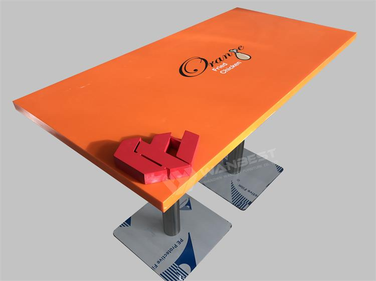 Dining table with LOGO