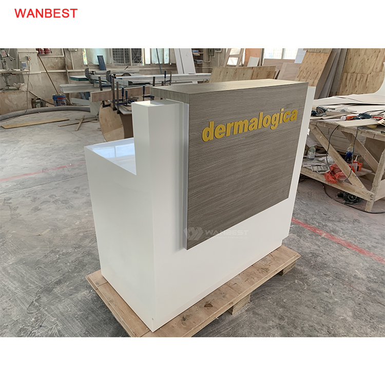 One seat modern design reception desk