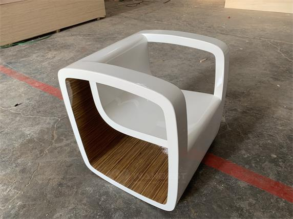 Wooden Lacquer White Modern Fashion Design Chair For Sale
