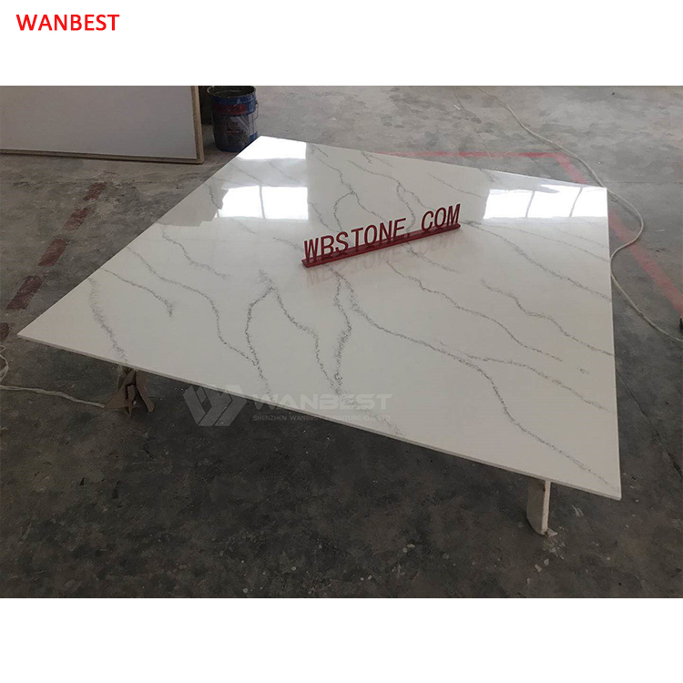 Pattern solid surface coffee table modern design