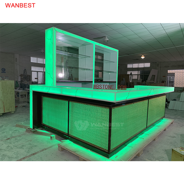 LED RGB light Night Bar counter