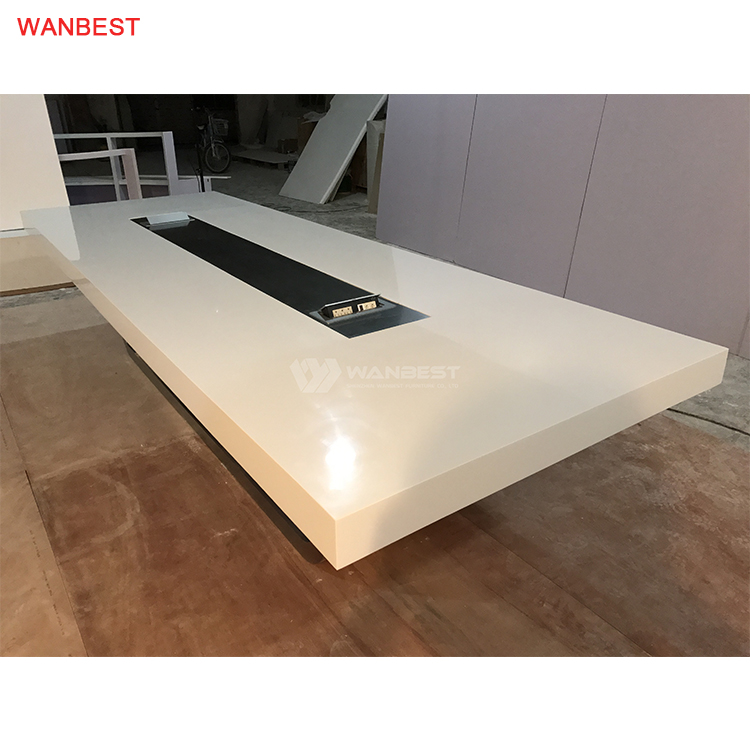 Hot Selling Acrylic Stone Conference Table