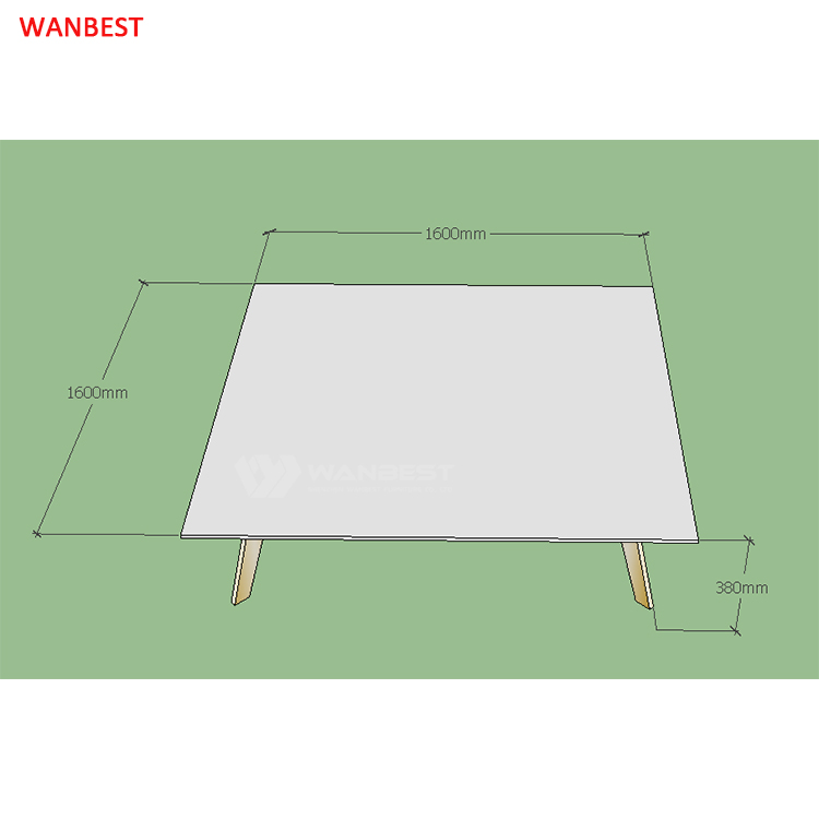 coffee table 3D drawing