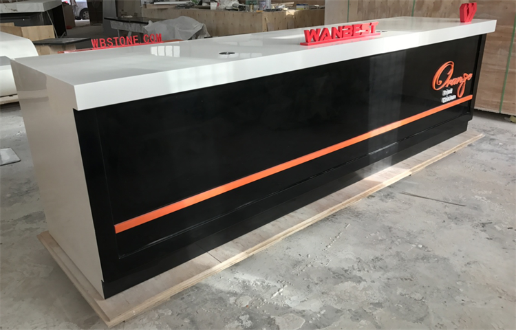 High quality solid surface bar counter
