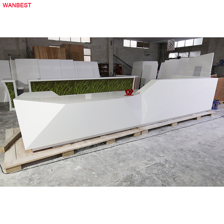 1.1 meter tall commercial reception desk