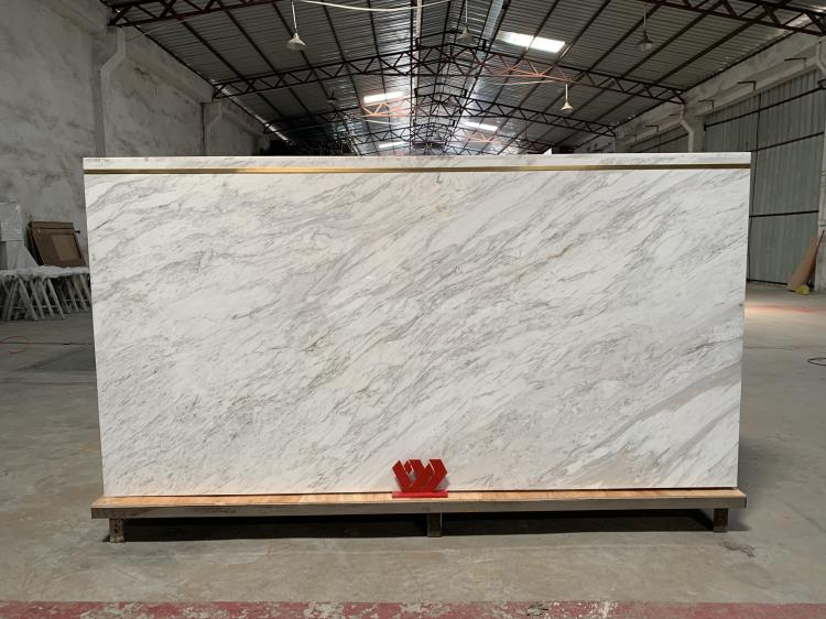 marble stone reception desk